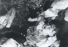 Volyn massacre began February 9, 1943 with an attack gang UPA  on the village of Paroslya which killed about 200 Poles.