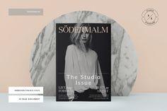 Södermalm Magazine by Studio Standard on @creativemarket