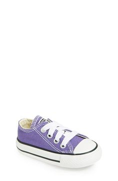 Converse Chuck Taylor® All Star® 'Ox' Sneaker (Baby, Walker & Toddler) available at #Nordstrom