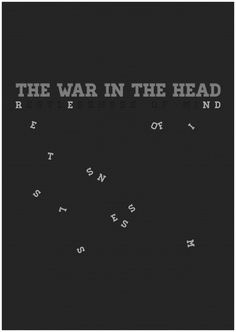The War In The Head by Irene Ferrarese, via Behance