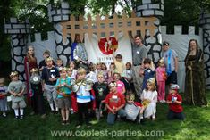 Great ideas for a medieval party