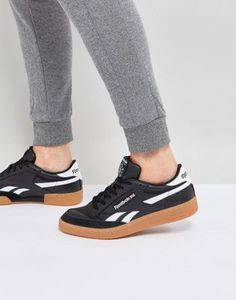 Image 1 of Reebok Revenge Plus Gum Sneakers In Black CM8790 Revenge 80c56a9fd