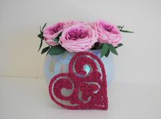 FREE SHIPPING WORLDWIDE   Unique laser cut HEART wall sign with wooden base and decorated with pink (fuchsia) reindeer moss / scandinavian lichens.  Lichens have been preserved using non-toxic processes that make them last many years without any maintenance. No water, sun or humidity is necessary.  This heart is good as a present for birthdays, baby showers, wedding favor, or just hung on the wall of a bedroom, as nursery decor or home office.  Measures: 10 x 10 cm Heart Wall, How To Preserve Flowers, Small Heart, Wall Signs, Laser Cutting, Reindeer, Wedding Favors, Nursery Decor, Birthday Gifts