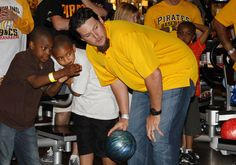 On May 6 Pirates pitchers Joel Hanrahan and Chris Resop hosted Bowling with the Bucs.