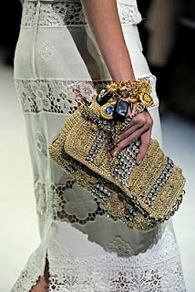 D spring 2012 - love the intermingled bands of cutwork