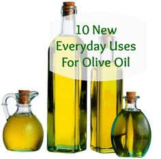 10 New Everyday Uses for Olive Oil http://lahealthyliving.com  Olive Oil is one of the base ingredients for our handmade soaps.