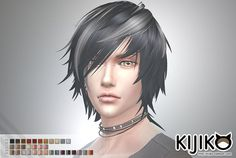Kijiko Sims: White Toyger Kitten TS4 edition for male  - Sims 4 Hairs - http://sims4hairs.com/kijiko-sims-white-toyger-kitten-ts4-edition-for-male/