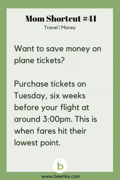 Travel And Money Saving Hacks For The Whole Family Travel tips 2019 Travel and Money Shortcuts: Save money on plane tickets. Get your daily source of awesome life hacks and parenting tips! CLICK NOW to discover more Mom Hacks. Life Hacks Diy, Simple Life Hacks, Mom Hacks, Useful Life Hacks, House Hacks, Disney Life Hacks, Life Tips, Travel Money, Travel Tips