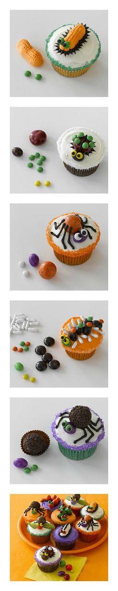 Halloween Cupcake ideas  #Halloween #cupcakes #kids