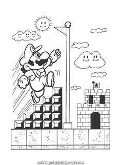 Super Mario Coloring Page Boy Coloring, Free Adult Coloring, Coloring Pages For Kids, Coloring Sheets, Farm Animal Coloring Pages, Cartoon Coloring Pages, Coloring Book Pages, Printable Coloring Pages, Super Mario Coloring Pages
