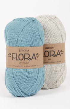 Muestrario de colores para DROPS Flora ~ DROPS Design