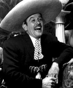 Pedro Infante actor y cantante mexicano.