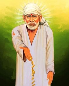 Sai Baba Pictures, God Pictures, Sai Baba Miracles, Shirdi Sai Baba Wallpapers, Sai Baba Quotes, Lakshmi Images, Baba Image, Cute Krishna, Hindu Dharma