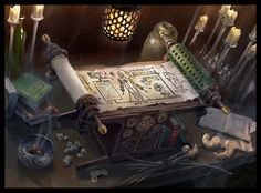 Scroll of the Masters by LakeHurwitz