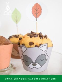 Wrappers - KIT DE FIESTA - ANIMALITOS DEL BOSQUE Baby Shawer, Woodland Baby, Bambi, Pudding, Party, Desserts, Food, Birthday Ideas, Fox