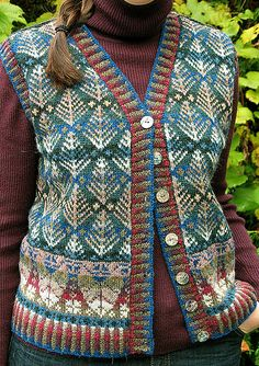 Oregon Vest by Alice Starmore