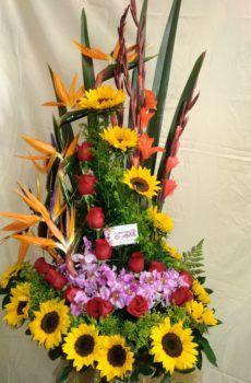 Productos – Floristeria la Maria Arte Floral, Ideas Para, Tropical, Plants, Floral Motif, Floral Design, Flower Vases, Ornaments, Bouquets