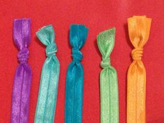 Knotted Stretchy Elastic Headbands by UniqueSheltons on Etsy!
