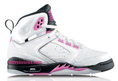 girl jordan shoes | GIRLS Nike Air Jordan SIXTY PLUS (White/China Rose) 365163-161 - Urban