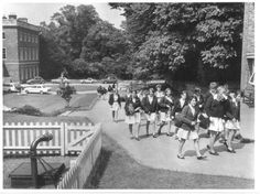 Clifton Hall Girls' Grammar School c 1969 Grammar School, History Photos, Nottingham, Family History, Growing Up, Dolores Park, The Past, Walking, Science