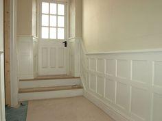New England Style, England Fashion, Wall Cladding, Alcove, Bathtub, Stairs, Doors, Hallways, Interior Ideas