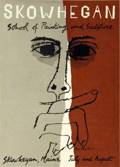 Skowhegan School of Painting and Sculpture. [Art Print by Ben Shahn]