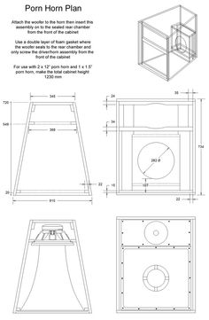 53 meilleures images du tableau speaker plans klipsch. Black Bedroom Furniture Sets. Home Design Ideas