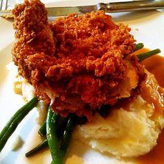 buttermilk fried chicken @ South City Kitchen