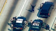 The FBI told Eyewitness News that the suspect arrested in the high-speed chase on Thurs 6/14/2012 is believed to be the Triple Threat Bandit.  http://abclocal.go.com/kabc/story?section=news/local/orange_county=8355858#