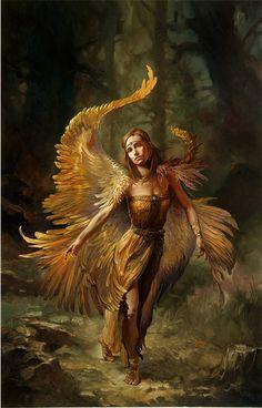 Julie Bell  Firebird