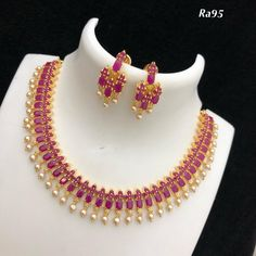 Temple jewellery available at AnkhJewels for booking msg on Gold Temple Jewellery, Silver Jewellery Indian, Gold Jewellery Design, Bead Jewellery, Gold Jewelry, Gold Earrings Designs, Necklace Designs, Silver Bangle Bracelets, Amai