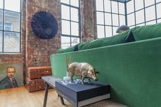 Heather's Eclectic, Little-Bit-Naughty, NYC-Style London Loft