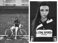 """CURITIBA CYCLE CHIC: """"Girls in Prologue"""" by Rebecca Naen & Hayley McCarthy."""