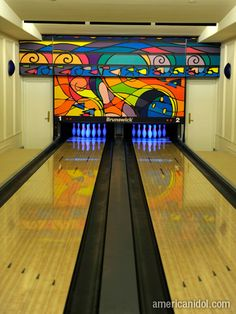 Indoor Bowling Lanes. I Would Love This For My Family. Part 67