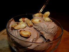 Mogyorós fagylalt Ice Ice Baby, Ice Cream Desserts, Frozen Yogurt, Popsicles, Sorbet, Parfait, Muffin, Pudding, Sweets