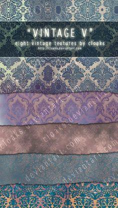 Vintage V Texture Pack by `cloaks on deviantART