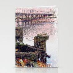 New for Old Stationery Cards by F Photography and Digital Art - $12.00