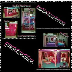 Selling this Barbie Townhouse in my Poshmark closet! My username is: kfrye71. #shopmycloset #poshmark #fashion #shopping #style #forsale #BARBIE  #Other