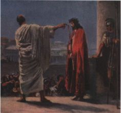 What is truth? Pontius Pilate and Jesus