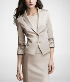 I've always loved the suit look. Someday I'll have a job which enables me to build this wardrobe.