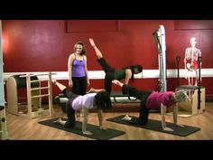 Upside-Down Pilates - Flex Band - Pilates Lesson 20 - Full Episode - HD - YouTube