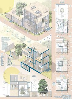 Design Presentation Ideas Architecture Portfolio Behance 47 Ideas For 2019 Masterplan Architecture, Plans Architecture, Architecture Sketchbook, Architecture Panel, Architecture Graphics, Architecture Visualization, Architecture Portfolio, Concept Architecture, School Architecture