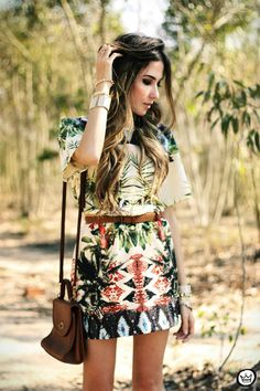 What to wear: Plentiful plant prints | what to wear fashion daily feature fashion daily casual friday  pictures