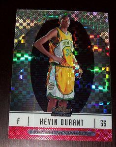 2006-07 25/25 Kevin Durant Topps Finest XFractor RC #102 Rookie OKLAHOMA CITY #OklahomaCityThunder