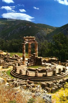 Santuário de Apolo en Delfos.