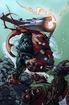 Comic Book Characters, Comic Character, Comic Books Art, Comic Art, Character Design, Spawn Comics, Arte Dc Comics, Anime Comics, Image Comics