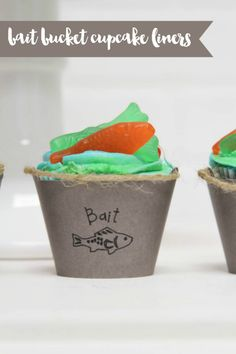 Chum Bucket Cupcake