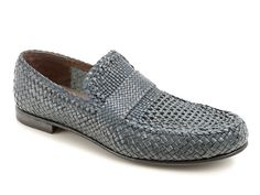 Dolce & Gabbana men's loafers in Azure Buff leather - Italian Boutique €347
