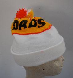 11af22ab107 Vintage DAD S Root Beer Winter Hat with pom by ilovevintagestuff Dads Root  Beer
