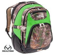 #New Realtree Xtra Camo 14-in. Green Laptop Backpack  #Realtreegear #backtoschool